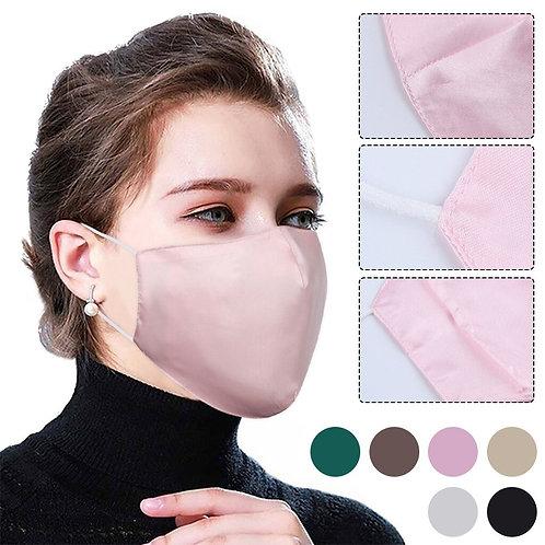 Face Mask Cover Satin Face Masks