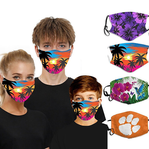 1pc Face Mask Scarf Cotton Face Mask