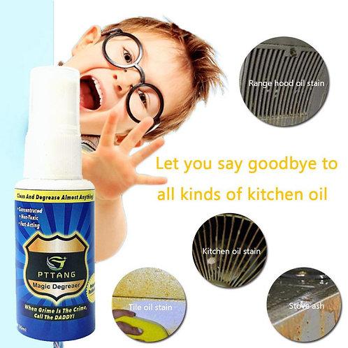 0Ml Grease Police Magic Degreaser Cleaner Spray Household Bathroom Degreaser