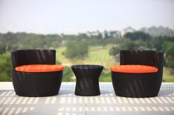 安杰洛斯系列休閒椅 / 黑朱古力色