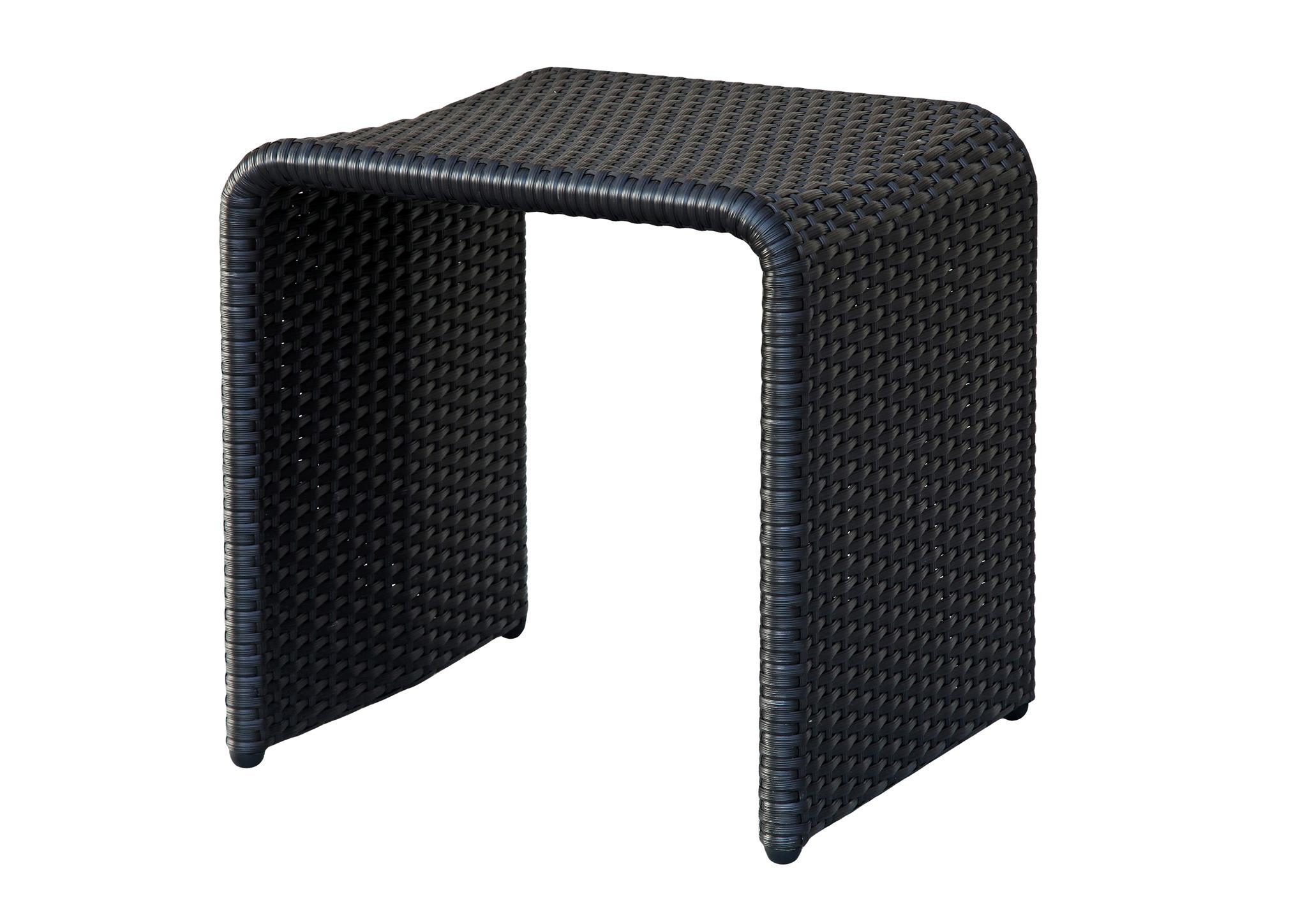 ㄇ型編藤凳
