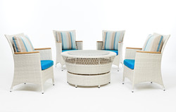 威爾登系列 一桌四椅