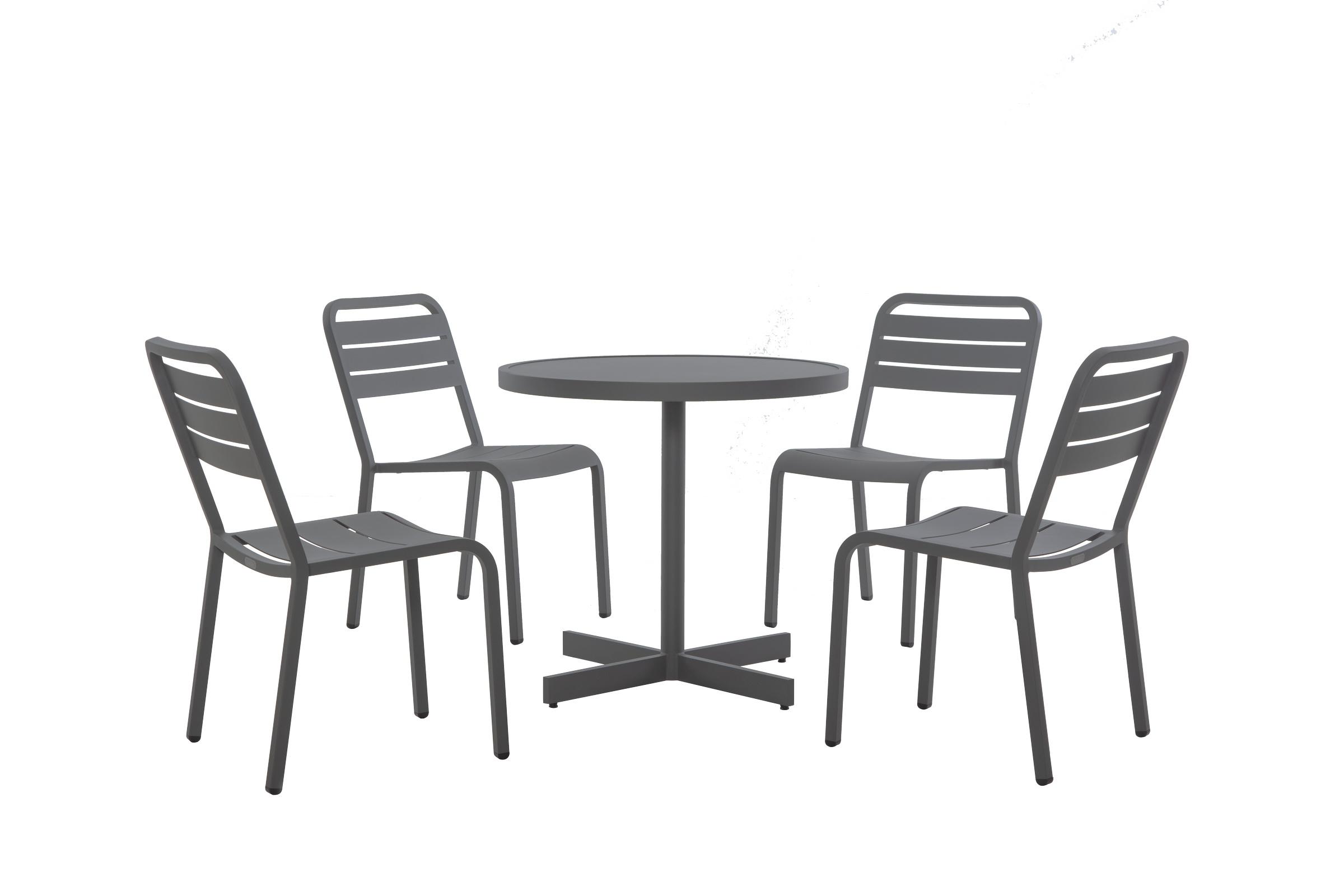 歐登桌椅(灰)