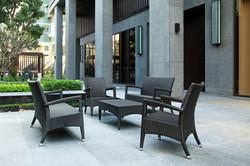 新羅馬系列休閒桌椅組