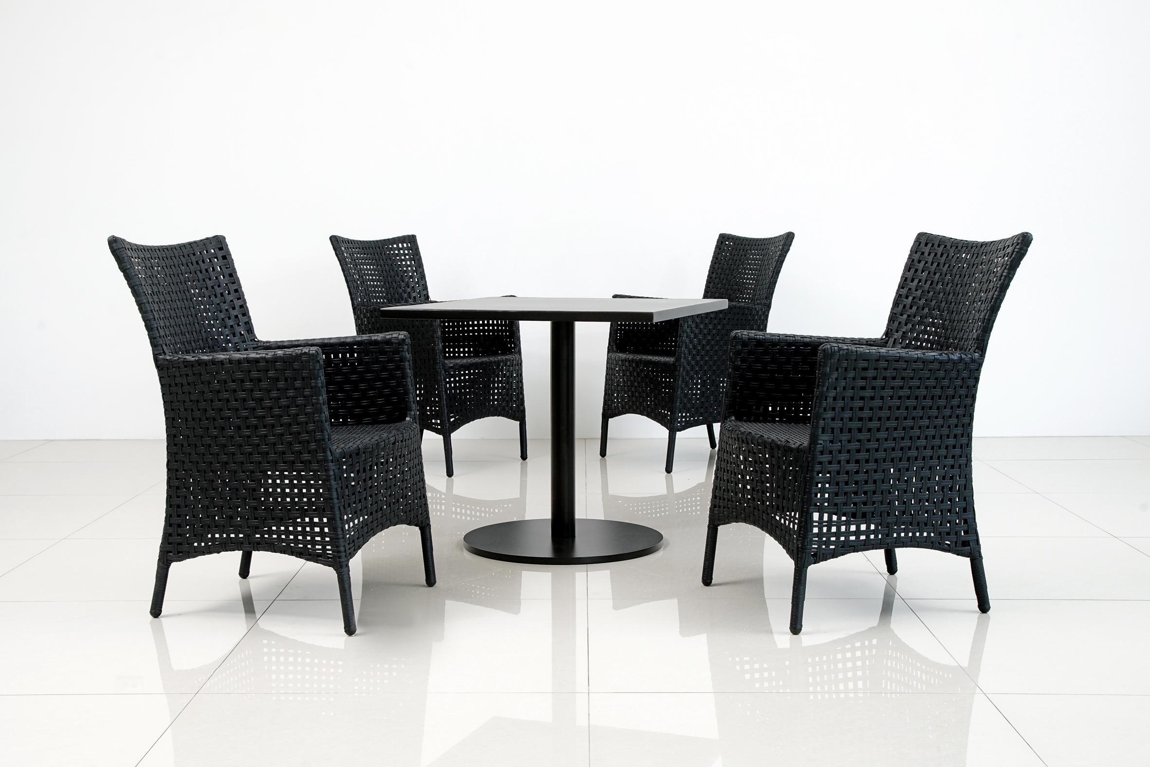 RIM+鋁板方桌