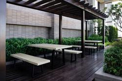 lavastone系列長桌+板凳