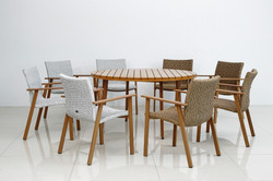 sonata round table chairs