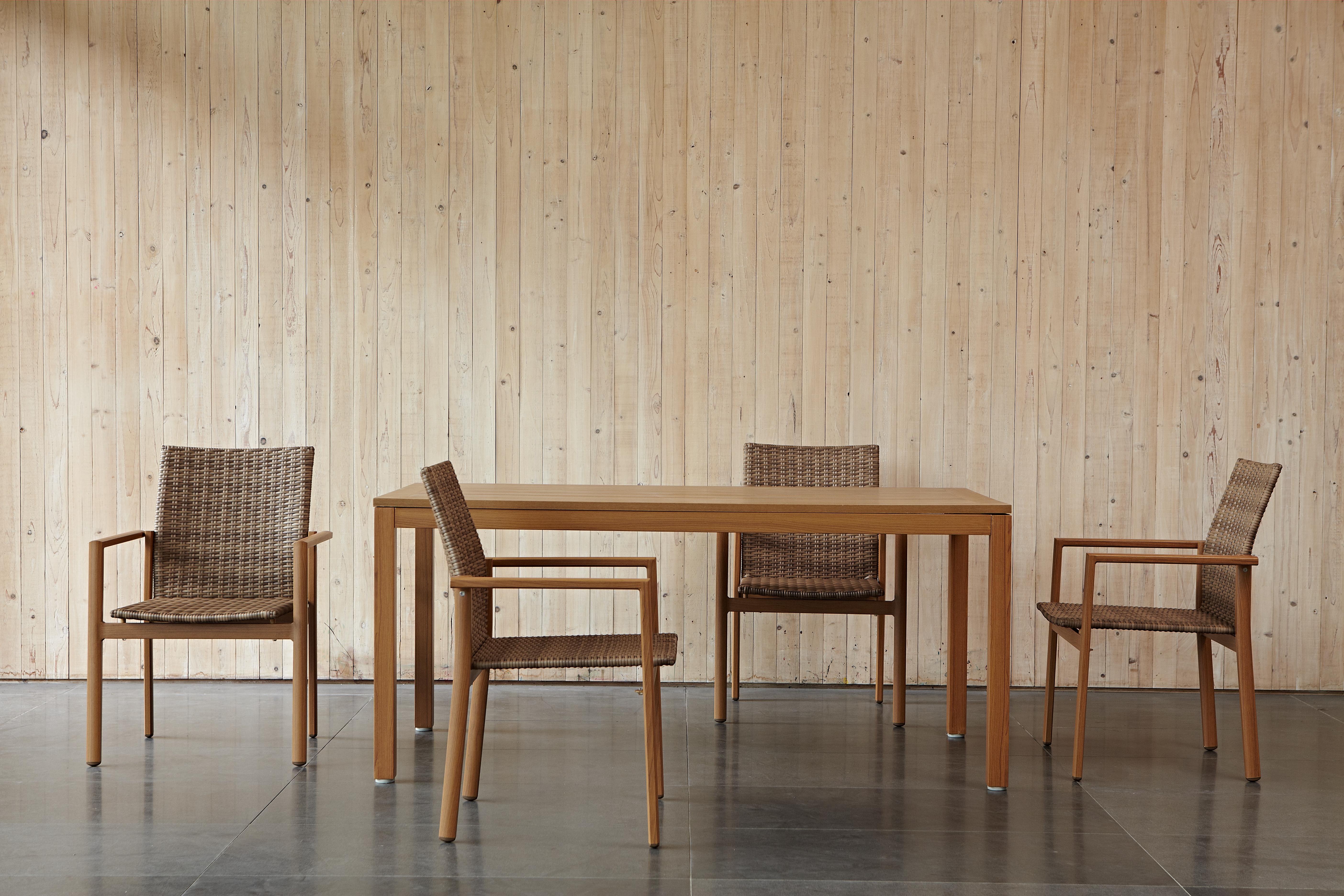 密斯特系列長桌 / 木紋框