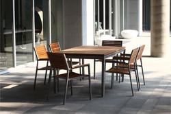 森林系列 柚木桌椅