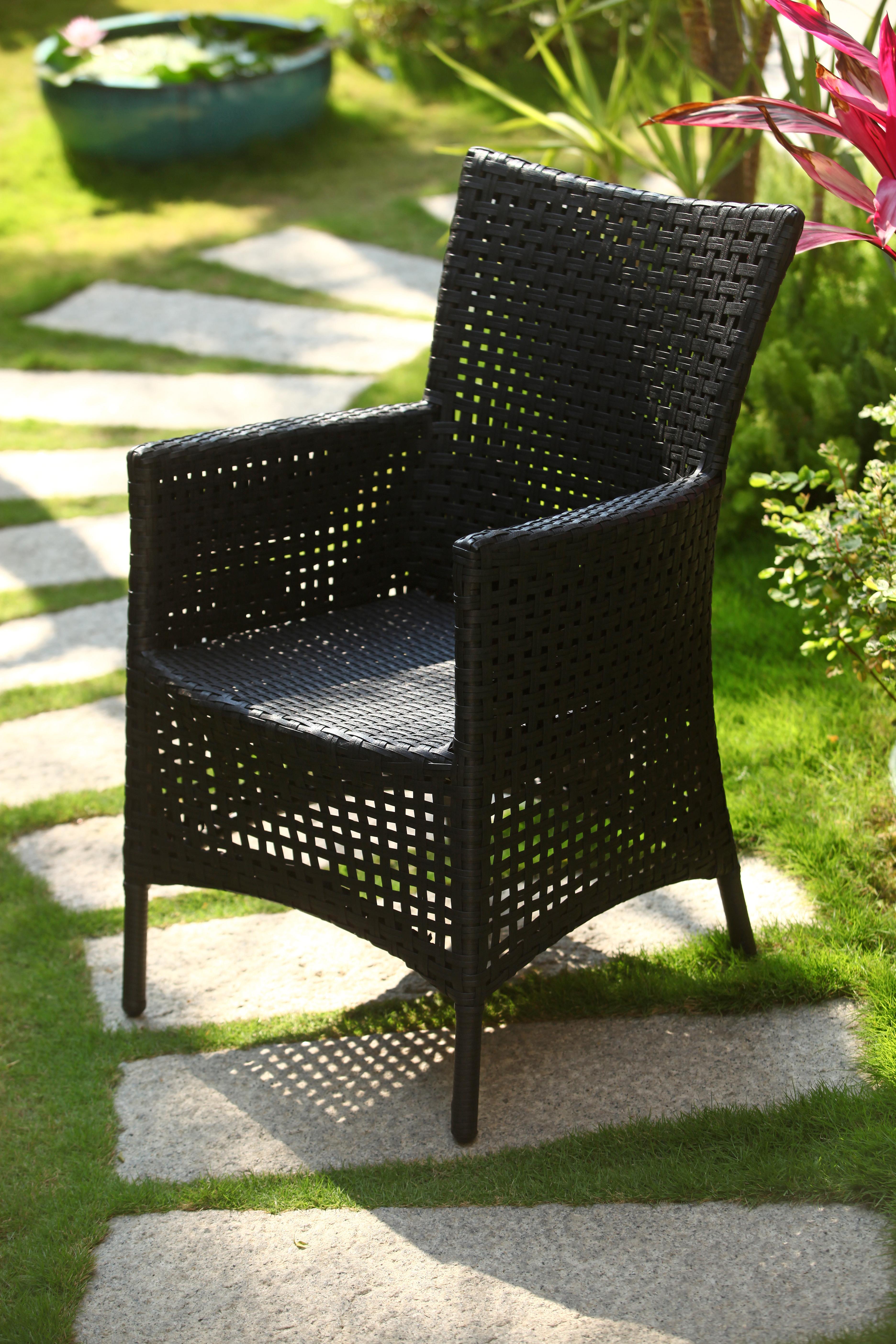 綠合椅簍空編