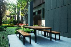 新森林系列 / 塑木桌板凳