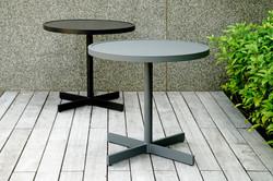 鋁板圓桌(黑+灰)