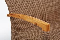 羅馬系列桌椅組 天然柚木扶手