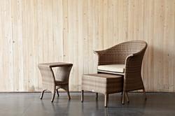 維多莉亞系列單人椅 (含抬腳)