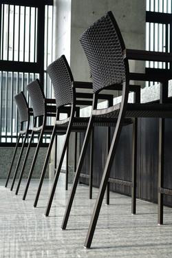 巴西高腳椅 黑色