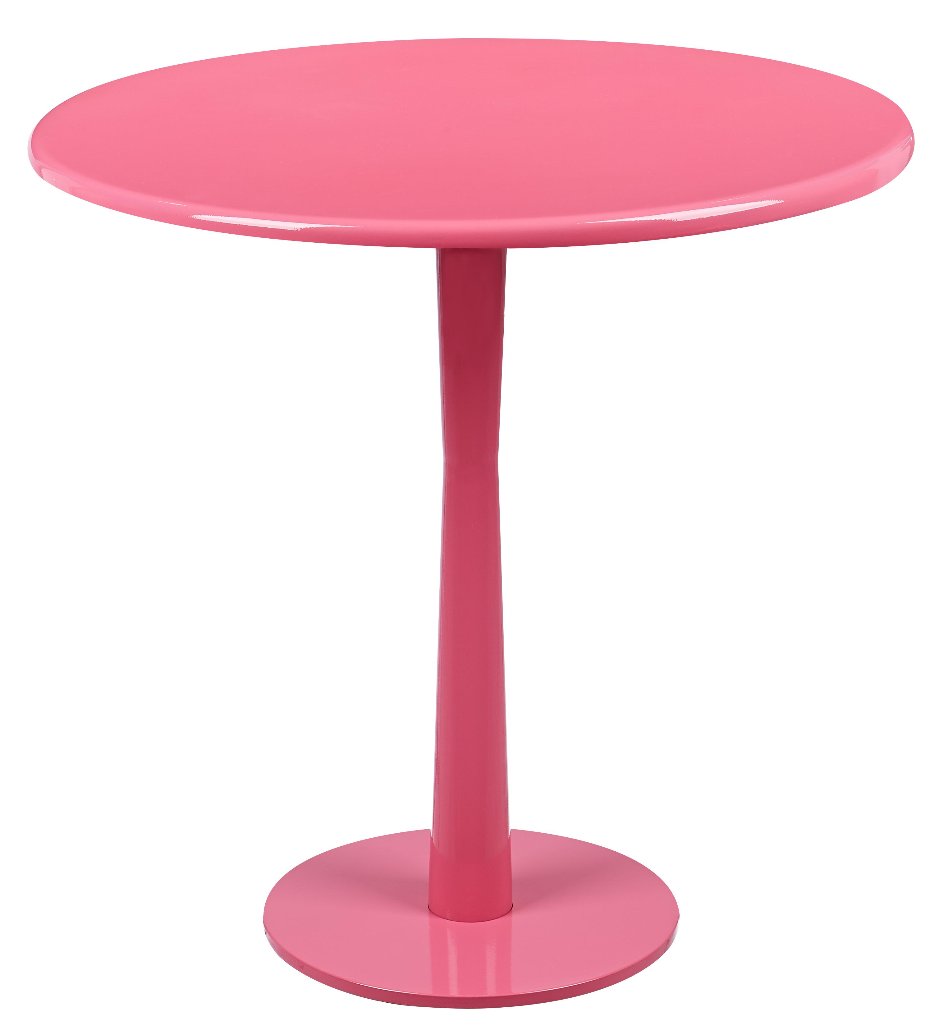 馬卡龍系列邊桌/紅色