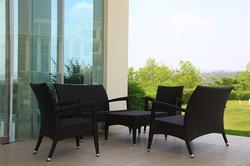 新羅馬系列休閒椅 黑朱古力色
