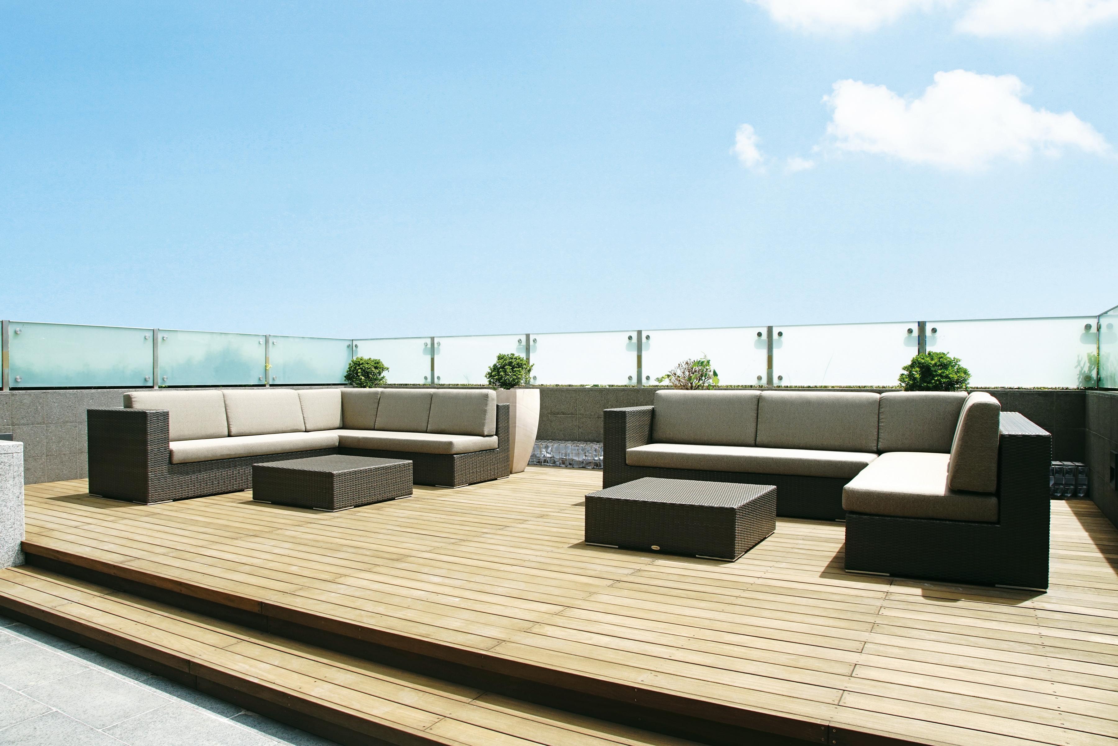 石板色島嶼系列組合沙發