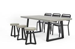 Lavastone系列 圓凳 / 長桌