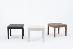 四腳桌 黑色/白色/原木色