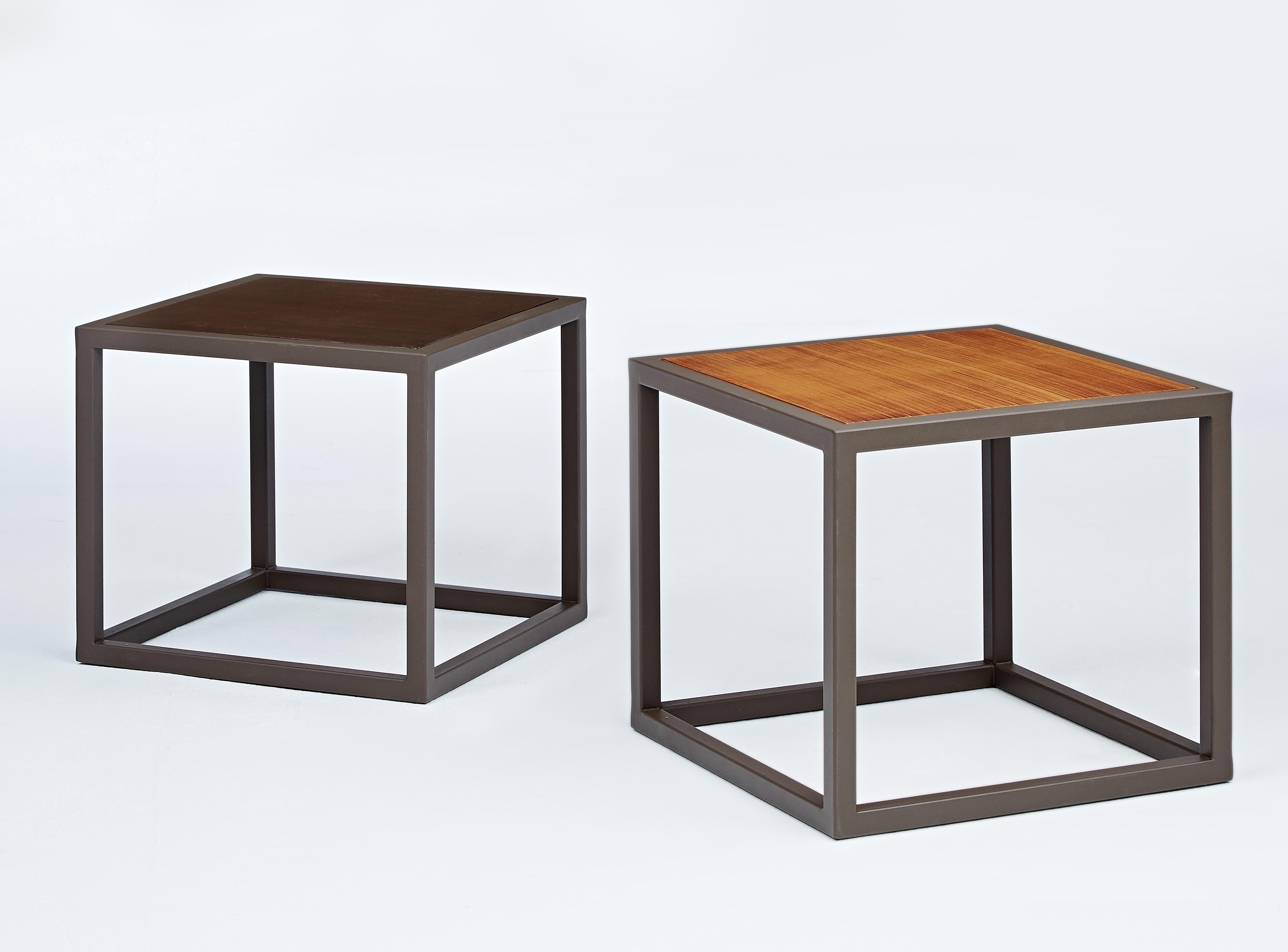 塑木方形桌板茶几