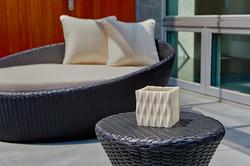 紐柏麗休閒椅/橢圓躺床/立方摺紙燭台