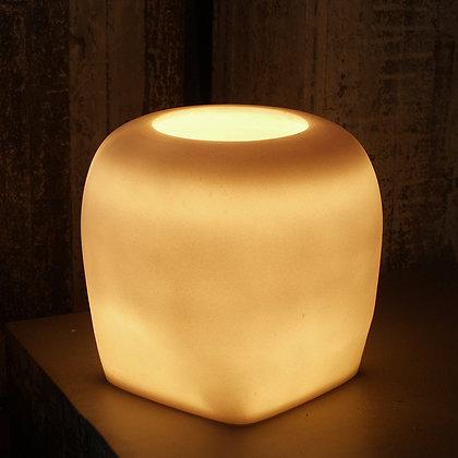 圓方粉石立燈│桌燈