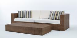 島嶼系列沙發 原木色