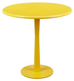 馬卡龍系列邊桌/黃色