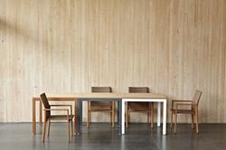 密斯特系列方桌 /木紋框 灰框 白框