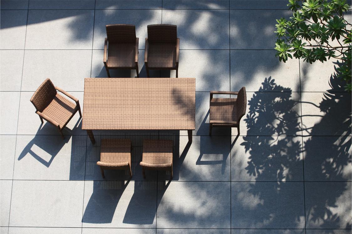 佩迪系列6人座長桌椅