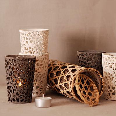 小茶杯燭台│燭台&花器