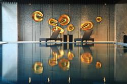 卡列斯系列躺椅+ㄇ型編藤桌 實景