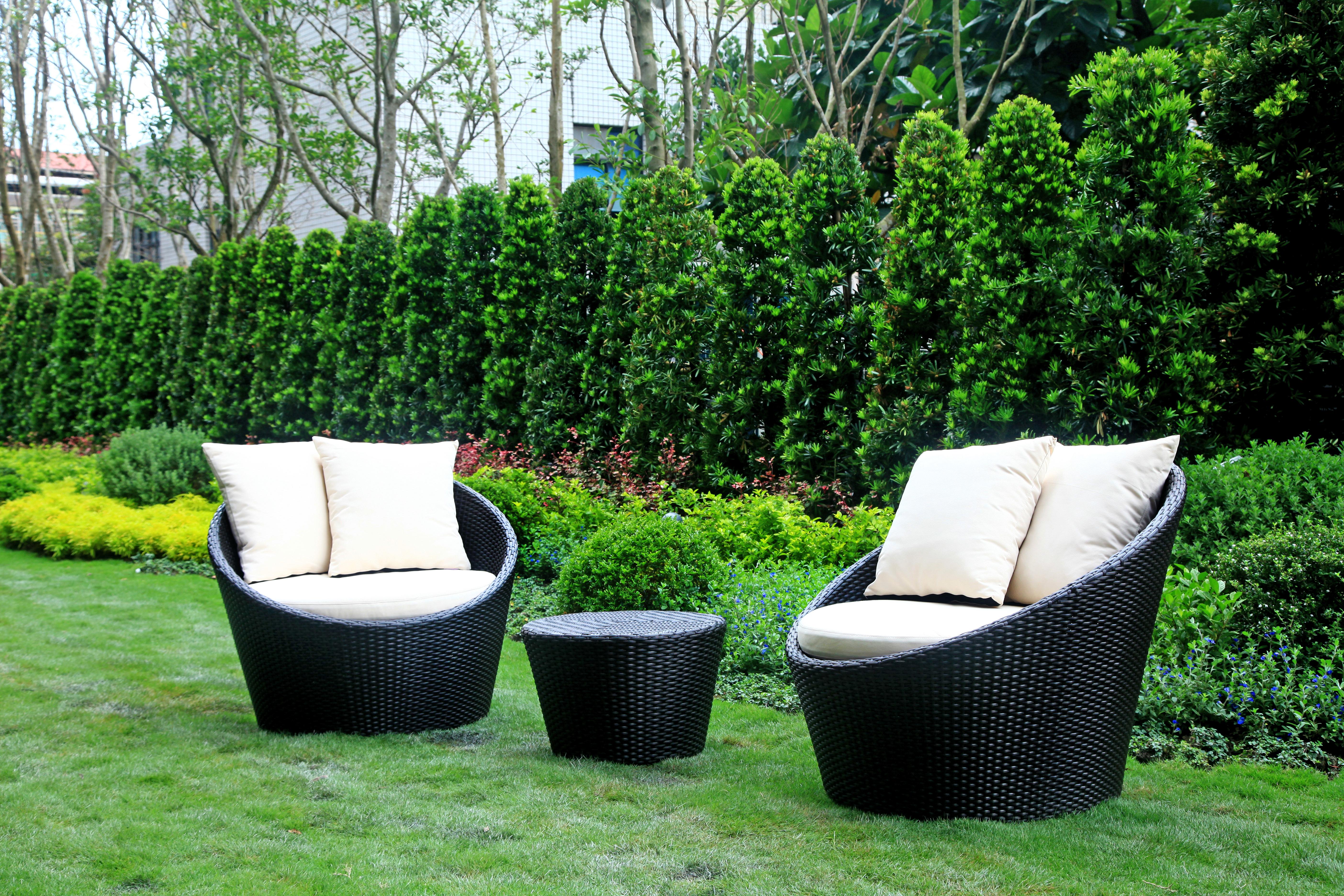 高背半圓系列 圓型單人沙發