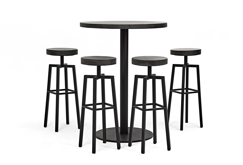 Lavastone系列吧檯桌椅