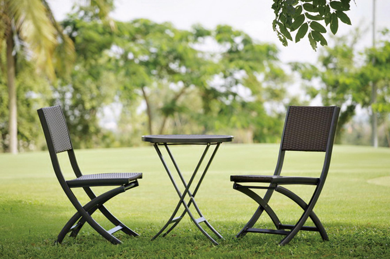 帕蘿系列戶外餐椅實景