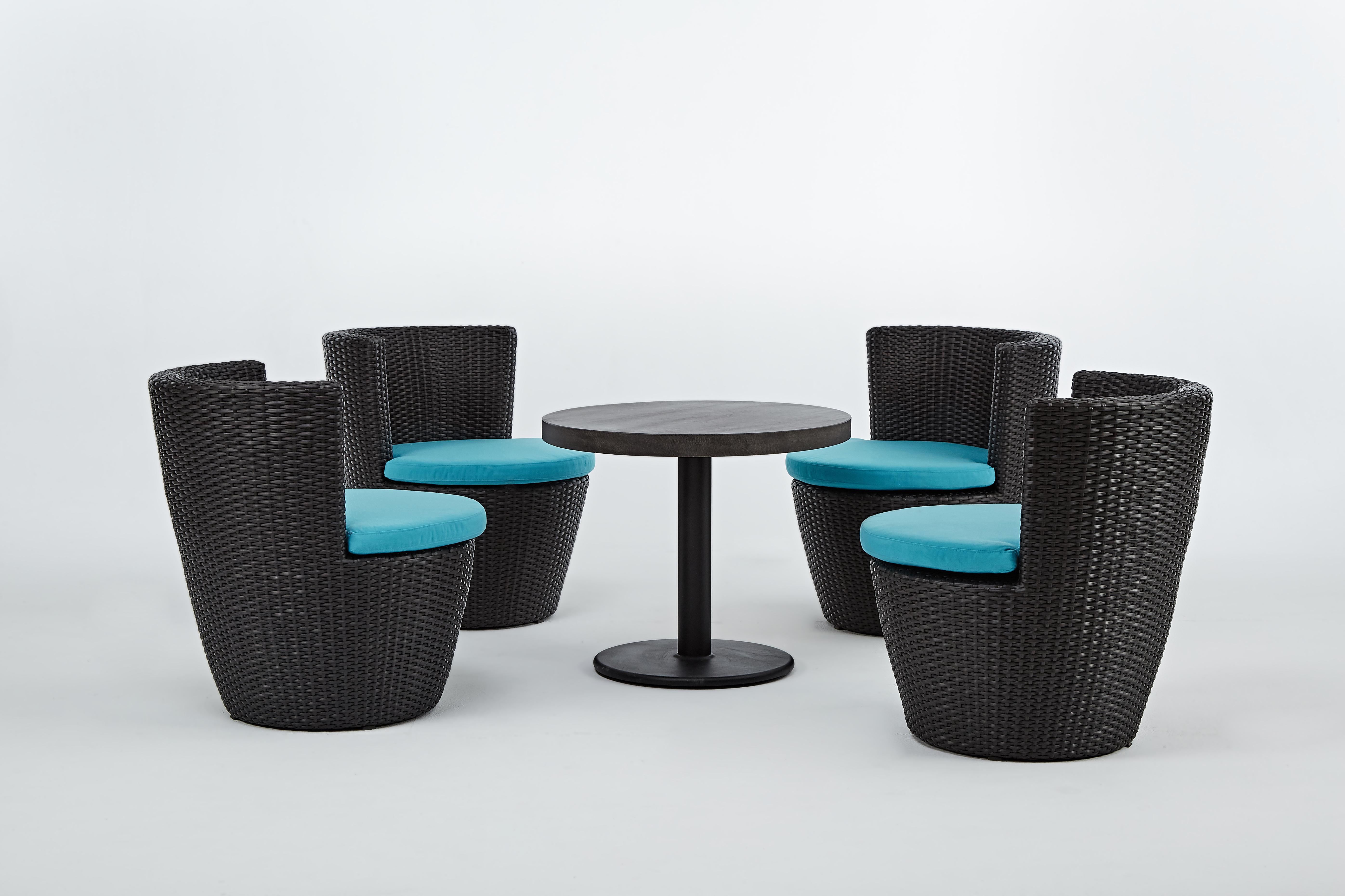 蓓蘿系列休閒椅 / 一桌四椅