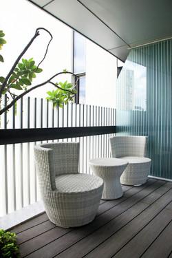 蓓蘿系列休閒椅 / 白色