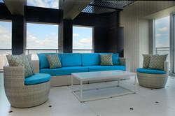 白色島嶼系列沙發/白色安杰洛斯系列躺椅