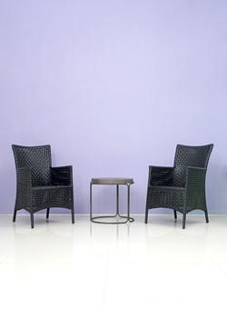 彎框茶几桌椅組