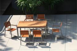 森林系列 柚木戶外餐桌椅