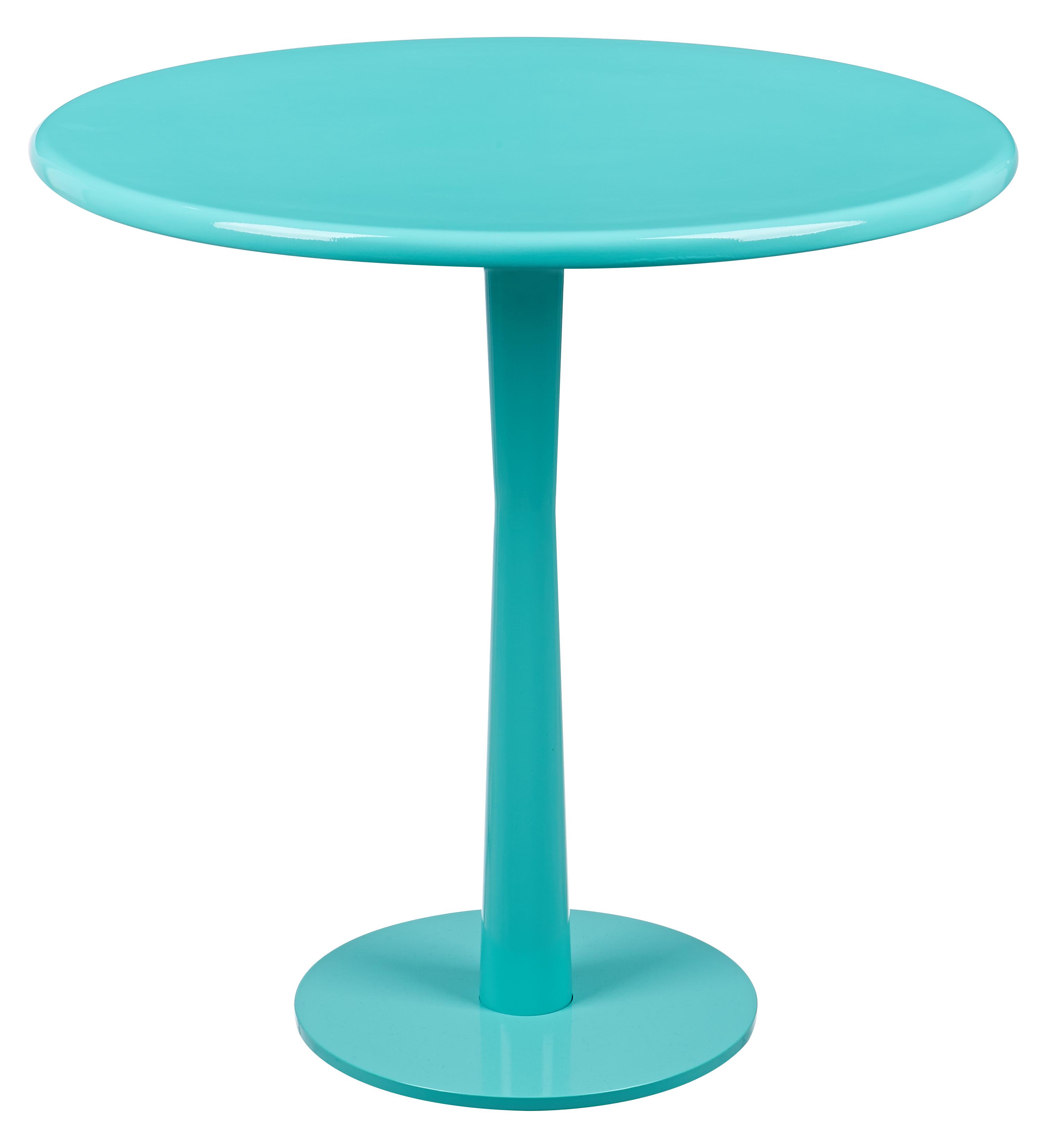 馬卡龍系列邊桌/湖水綠色
