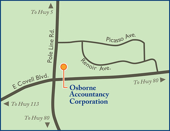 Map showing where office is located.