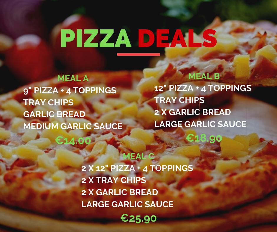 Silvio's Pizza Deals