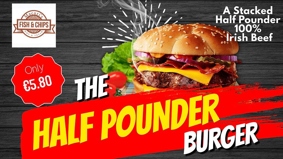 Macaris Celbridge Half Pounder