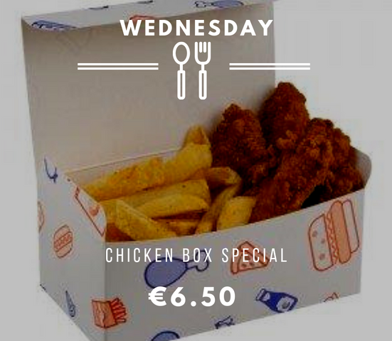 Silvio's Wednesday Chicken Box
