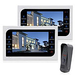Wire Free Cameras Intercom with 7 inch S