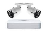 Wire Free Cameras NVR 2 Channel Cameras