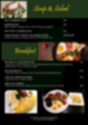 O'Malley's Bangkok Food Menu
