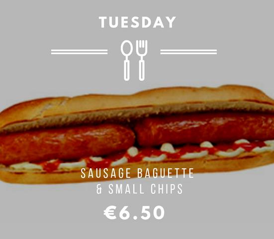 Silvio's Tuesday Sausage Baguette